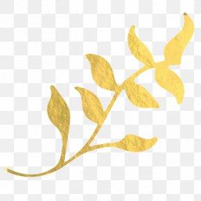 Leaf - Gold Leaf Clip Art PNG