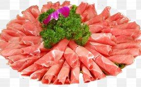 Mutton Roll With Cauliflower - Hot Pot Lidong Lamb And Mutton Dongzhi Shabu-shabu PNG