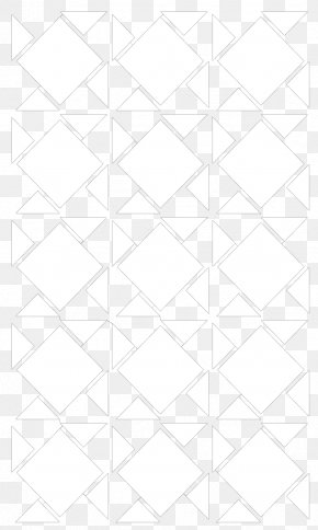 Line - Line White Symmetry Pattern PNG