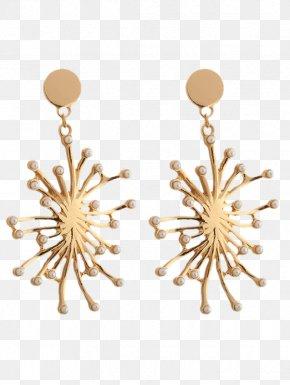Jewellery - Earring Jewellery Pearl Silver Gold PNG