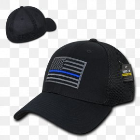 United States - Flag Of The United States The Thin Red Line Baseball Cap PNG