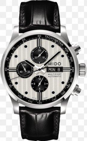 Watch - Mido Automatic Watch Chronograph Analog Watch PNG