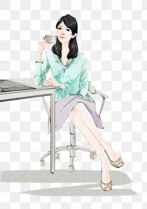 Watercolor Illustrations Relax Tea - Tea Illustration PNG