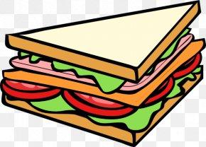 Sub Sandwich Cliparts - Submarine Sandwich Ham And Cheese Sandwich Breakfast Sandwich PNG