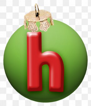 Christmas Letter H - Christmas Typeface Font PNG