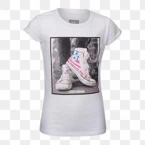 T-shirt - Long-sleeved T-shirt Chuck Taylor All-Stars Long-sleeved T-shirt Product PNG