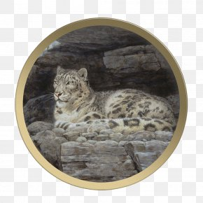 Leopard - Snow Leopard Felidae Big Cat Guy Coheleach's Animal Art PNG