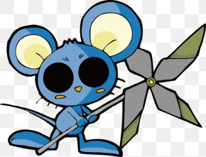 Vector Mouse - Cartoon Chinese Zodiac Clip Art PNG
