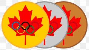 Medal - Flag Of Canada Maple Leaf National Flag PNG