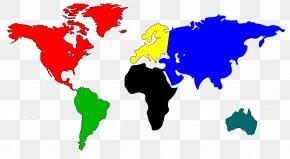 World Map Clipart - Globe World Map Clip Art PNG