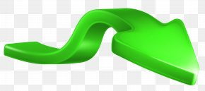 Recession Arrow Green Clip Art Image - Green Arrow Clip Art PNG