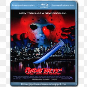 Friday The 13th Part Vi Jason Lives - Jason Voorhees Friday The 13th Film 1080p High-definition Video PNG