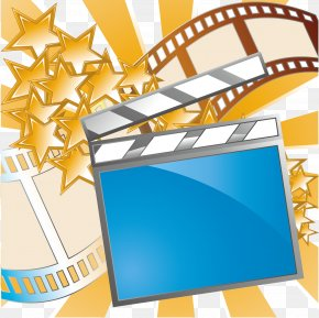 Movie Theme Vector Material - Film Cinema Ticket Art PNG