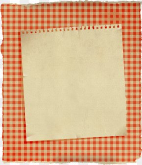 Decorative Notes - Gingham Curtain Check Textile Cotton PNG