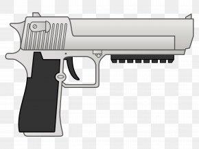 Desert Trading - Trigger Firearm Revolver IMI Desert Eagle Cartoon PNG