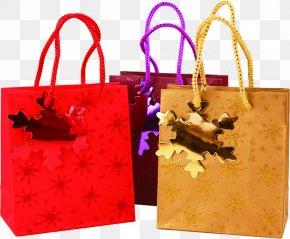 Bag - Paper Gift Christmas Box PNG