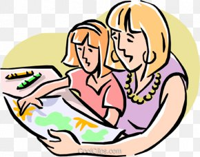 Family - Mother Daughter Family Child Clip Art PNG
