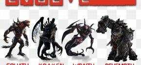 Monster - Evolve DOOM PlayStation 4 Monster Video Game PNG