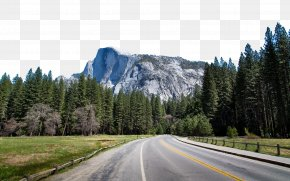 Yosemite National Park Thirteen - Yosemite Valley Half Dome Glacier Point Banff National Park Wallpaper PNG