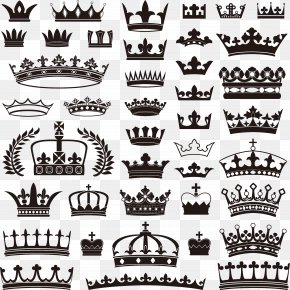 Hand Painted Black Crown - Crown Stock Illustration Royalty-free Stock Photography PNG