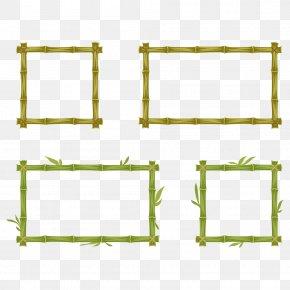 Bamboo - Bamboo Picture Frame Euclidean Vector Clip Art PNG