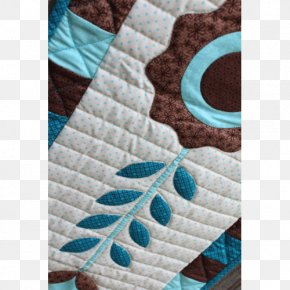 Bernina Sew N Quilt Studio - Quilting Wool Patchwork Turquoise Pattern PNG
