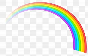 Rainbow Transparent Clipart Picture - Rainbow Clip Art PNG