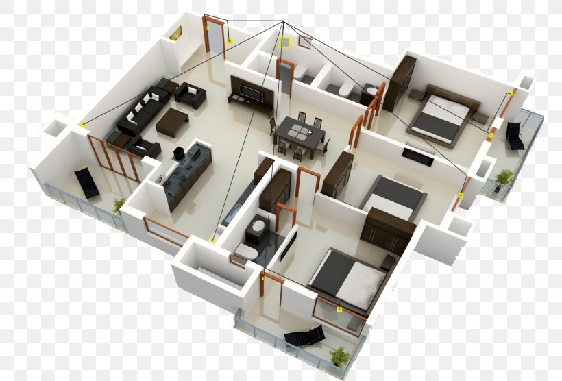 House Plan Interior Design Services Sweet Home 3d 3d Floor Plan Png 768x556px 3d Computer Graphics