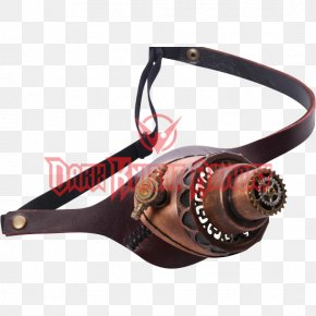 Steampunk Gear - Monocle Steampunk Goggles Glasses Light PNG