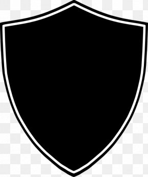 Shield Clip Art Black And White Transparent - Project Course Clip Art PNG
