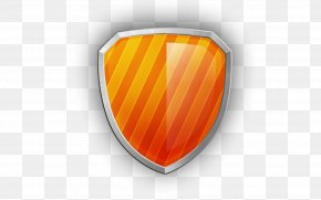 Orange Shield - Tap And Die Computer Numerical Control Chuck Orange PNG