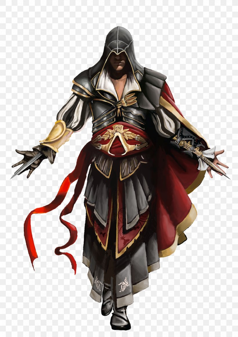 Assassins Creed II Assassins Creed: Revelations Assassins Creed: Brotherhood Assassins Creed: Altaxefrs Chronicles, PNG, 1240x1754px, Assassins Creed Ii, Action Figure, Altaxefr Ibnlaahad, Armour, Assassins Download Free