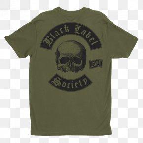 T-shirt - T-shirt Black Label Society Grimmest Hits Musician Guitar PNG