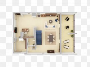 Plan View - 3D Floor Plan House PNG