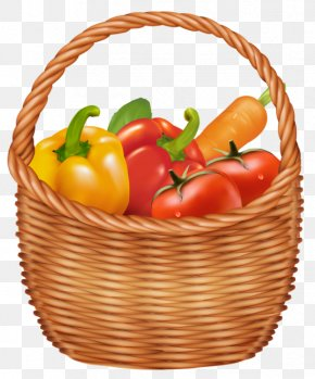 Vegetables Basket Clipart Picture - Basket Vegetable Clip Art PNG