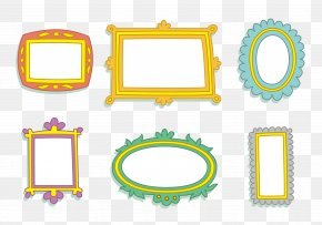 Lovely Baby Photo Frame - Picture Frame Film Frame PNG