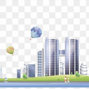 Vector City Building - Euclidean Vector Building Architecture PNG