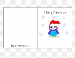 Creative Christmas Poster Free - Bird Construction Paper Penguin Turkey PNG