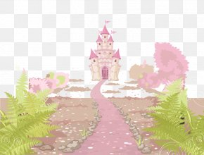 Castle Fairy Tale World Vector Material - Fairy Tale Castle PNG