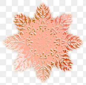 Pink Christmas Snowflake Pattern Hollow - Snowflake Christmas Clip Art PNG