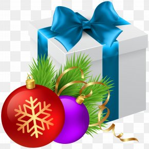 Christmas Gift Transparent Clip Art Image - Christmas Santa Claus Gift Wallpaper PNG