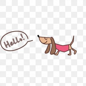 Dogs Say HELLO - Dog Hello Kitty Icon PNG