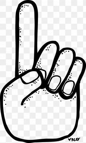 1 - Index Finger Number Middle Finger Clip Art PNG