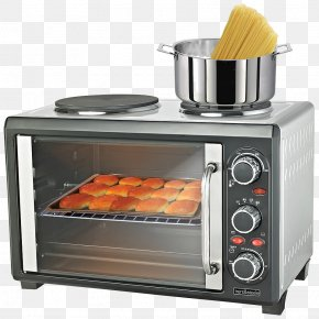 Oven Top View - Microwave Ovens Cooking Ranges Toaster Barbecue PNG