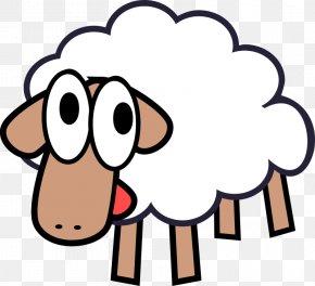 Sheep Cartoon - Sheep Cartoon Comics Goat Clip Art PNG