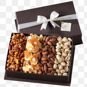 Gift - Dried Fruit Food Gift Baskets Nut Box PNG