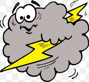 Cloud Lightning Cliparts - Lightning Cloud Thunderstorm Clip Art PNG