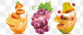Juice - Orange Juice Fruit Food Grape PNG