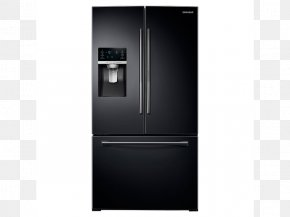 Refrigerator - Refrigerator Samsung Food ShowCase RH77H90507H Freezers Home Appliance Door PNG