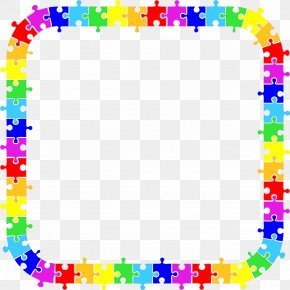 Picture Frame Point - Circle Background Frame PNG